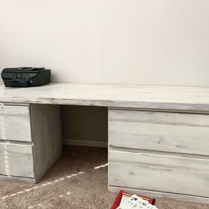Solid Oak Desk And Chair for Sale in Kerman, CA