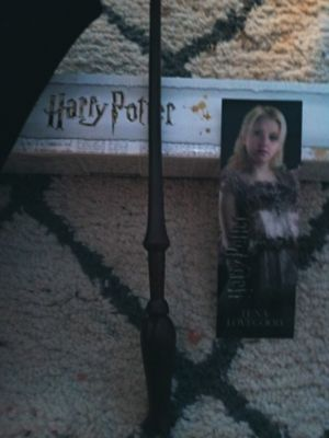 HARRY POTTER OFFICIAL WAND. This is Lunas wand for Sale in Columbia, SC
