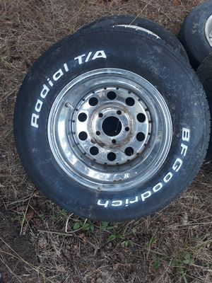 15 in rally wheels and bfgoodrich tires for Sale in Federal Way, WA