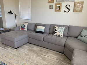 Living Spaces sectional couch for Sale in AZ, US