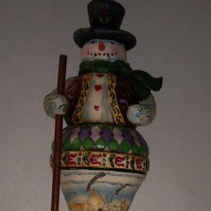 Jim Shore Christmas Collection Snowman Nutcracker Hallmark for Sale in Sacramento, CA