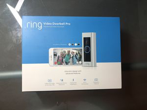 Ring Video Doorbell Pro HD Video Motion New 100% AUTHENTIC ONLY $220!!! for Sale in Hayward, CA