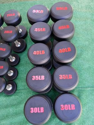 5-50 DUMBBELLS SET. ROUND HEAD for Sale in Riverside, CA