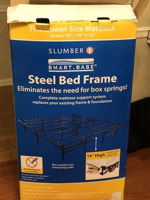 steel bed frame for Sale in Baton Rouge, LA