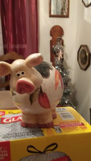 Bobble head piggy bank6 to 7 inches tall. Nice for Sale in Clark, MO