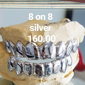 silver grillz special for Sale in Tampa, FL