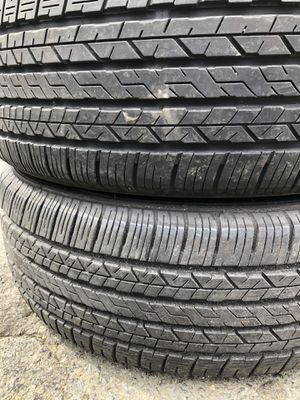 two used tire 185/55R16 DUNLOP SPORT 7000 two used tire $45 2 llantas usadas 185/55R16 DUNLOP SPORT 7000 por las 2 llantas $45 for Sale in Alexandria, VA