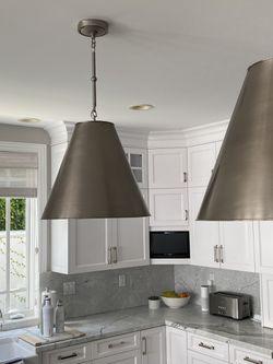 Goodman large pendant lights (2) for Sale in Rolling Hills,  CA