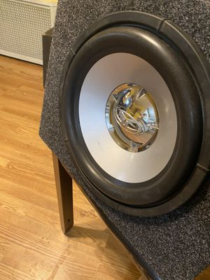 """12"""" Rockford fosgate HE2 with sealed sub box. 1,000 watts for Sale in Stoughton, MA"""