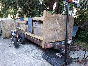 6.5 ft x 16 ft tandem utility trailer for Sale in Largo, FL