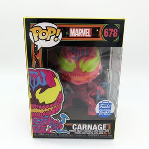 Marvel POP! Carnage (Black Light) #678 & Posters!! for Sale in Rancho Cucamonga, CA