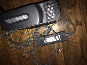 120 GB Xbox 360 with game lot and controller for Sale in Elmhurst, IL