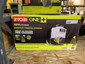 Ryobi chemical sprayer for Sale in Phoenix, AZ