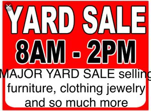 YARD SALE 9-1-18 for Sale in Tampa, FL