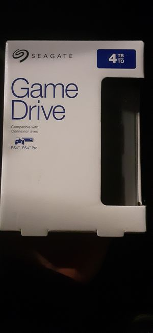 Seagate 4 TB Game Drive for PS4 for Sale in Oak Grove, MN