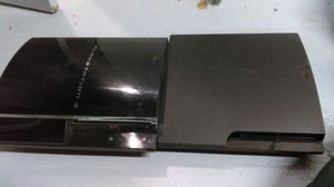 2 PS3 both need fixed consoles only one is backwards compatible for Sale in Pittsburgh, PA