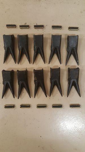 John Deere 310G Case 580M Backhoe Bucket Teeth for Sale in Mission, TX