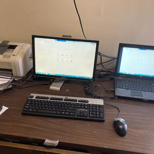 Hp Laptop i7 Monitor Printer Whole Set for Sale in Sunnyvale, CA