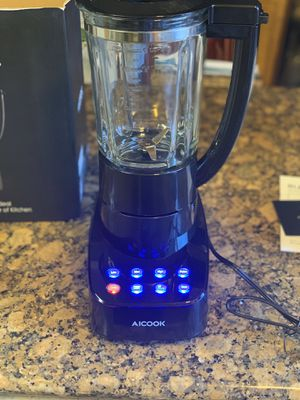 AICOOK Smoothie Blender, Heavy Duty Glassware! for Sale in Stockton, CA