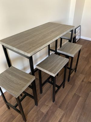 Kitchen table and stools for Sale in Denver, CO