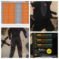 Zoot Women's Triathlon Wetsuit & Body Glove Shorty Wetsuit - Please Read Description for Sale in Kent,  WA