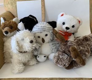 Stuffed animals, 8 to 10 inch for Sale in Allen, TX
