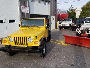 2001 Jeep Wrangler 4x4 for Sale in Ashland, MA