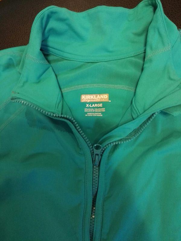 Kirkland Signature Costco ladies full zip jacket