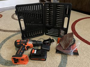 Black+Decker Matrix Drill Set for Sale in Grovetown, GA
