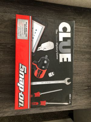 Snap on clue game board for Sale in Humble, TX