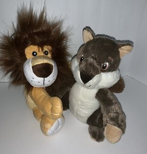 Seymour And Linc Stuffed Animals By Progressives Plush. New. for Sale in Woodstock, GA