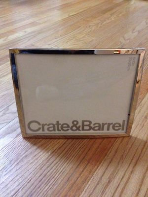 Silver pic frame from Crate&Barrel for Sale in Washington, DC