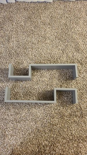 Grey wall shelves for Sale in Schaumburg, IL