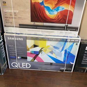 65 INCH SAMSUNG QLED Q80T Q80 SMART 4K TV SALE FULL ARRAY TV for Sale in Burbank, CA