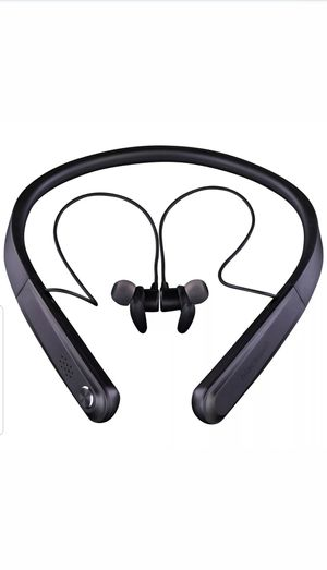 Blackweb 12-Hour Wireless Bluetooth Neckband Earbuds Headphones for Sale in Kent, WA