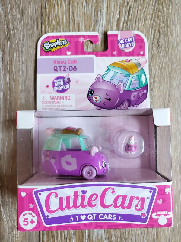 Shopkins Cutie Cars Kissy Cab