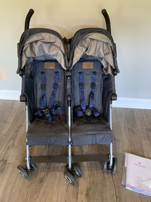 Maclaren twin double stroller for Sale in Chesapeake, VA