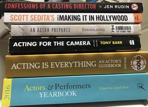 ACTING BOOKS $1-$3. for Sale in Los Angeles, CA