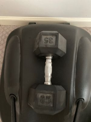 35 pound weight/dumbbell for Sale in Vienna, VA