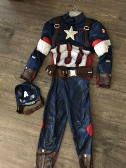 Kids Halloween Costume Marvel Captain America for Sale in Stockton,  CA