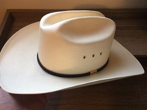 George Strait Cowboy Hat Autographed Singed Brand-New Sz 7 1/4 for Sale in Bakersfield, CA