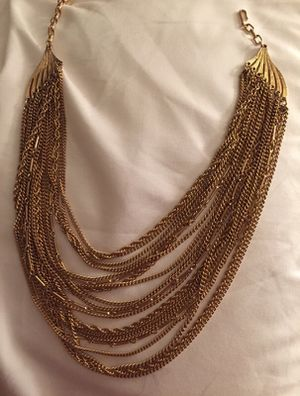 Gold necklace for Sale in St. Louis, MO