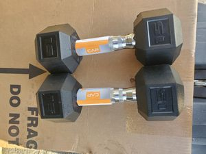 15 lbs dumbbells for Sale in Sanger, CA
