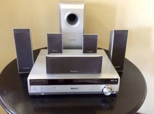 LIKE NEW 5.1 PANASONIC SURROUND SOUND STEREO for Sale in Wildomar, CA
