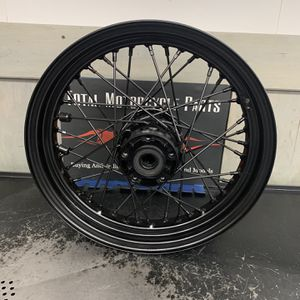 Harley Davidson 29707 Rear Blacked Out Spoked Rim Size T 16X3.00 D for Sale in Arlington Heights, IL