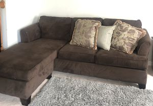 Soft & Comfy Brown L- Shaped Sectional 2-Sided for Sale in Ashburn, VA