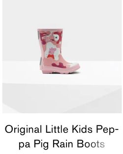 Original Little Kids Peppa Pig Rain Boots for Sale in Philadelphia,  PA