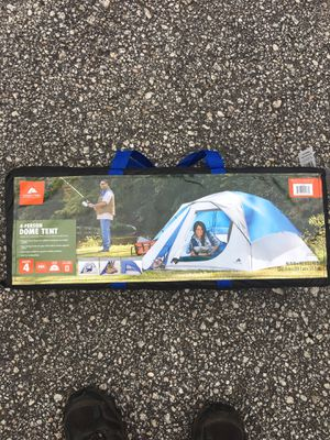 Never Opened, 4 Person Dome Tent for Sale in Portland, ME
