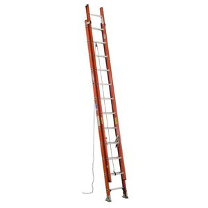 Werner 24 ft. Fiberglass Extension Ladder with 300 lbs. Load Capacity Type IA Duty for Sale in Tempe, AZ