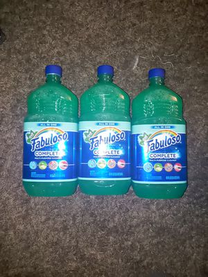Fabuloso 40 oz each. 3×$10 for Sale in Anaheim, CA